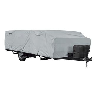 Classic Accessories PermaPro Heavy Duty Folding Camping Trailer Cover, 14&#x27&#x3b;-16&#x27&#x3b;