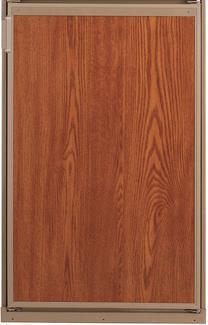 Refrigerator Door Panels, Wood Grain - Fits Dometic Freedom 5.0CF