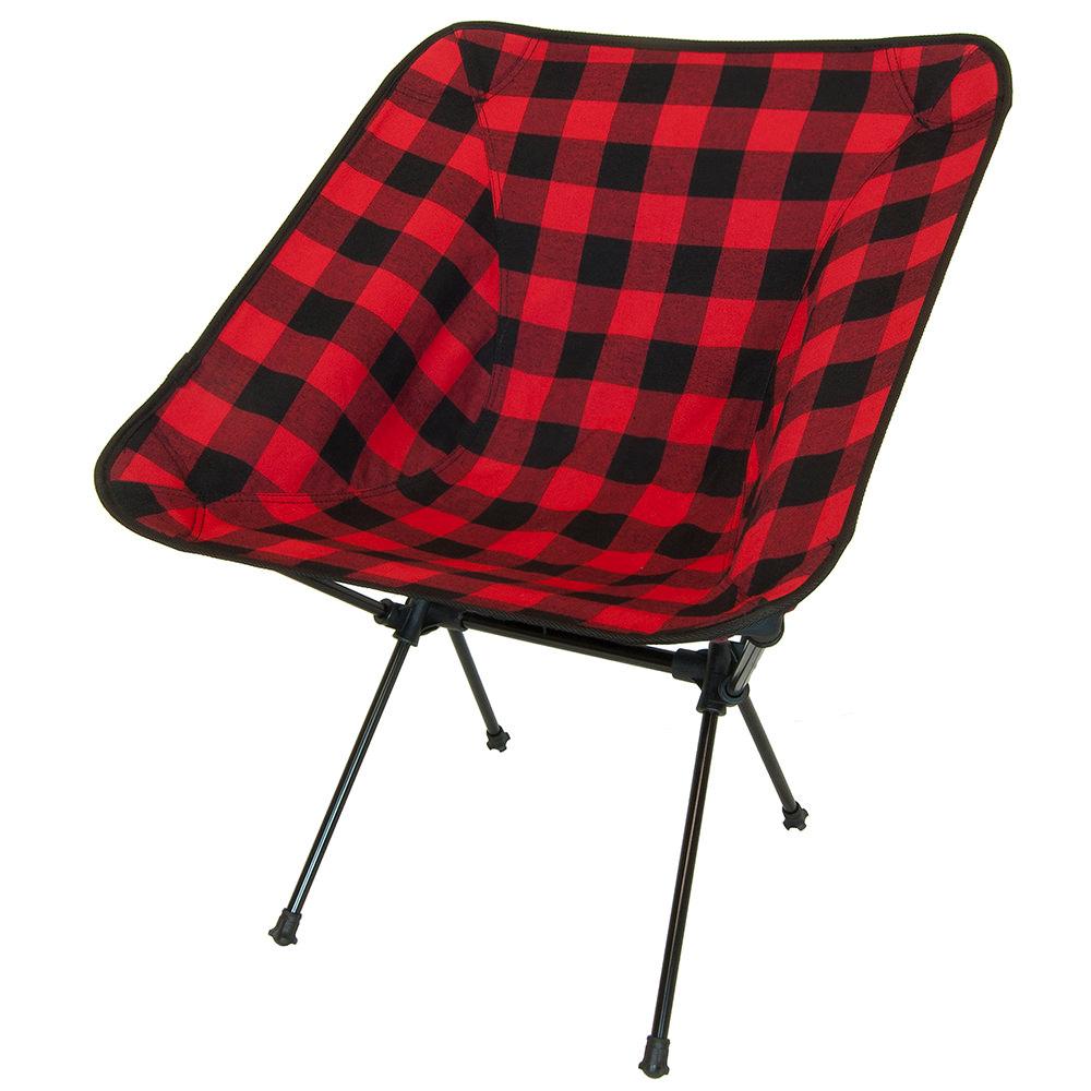 C Series Joey Chair Buffalo Plaid Travel Chair Company