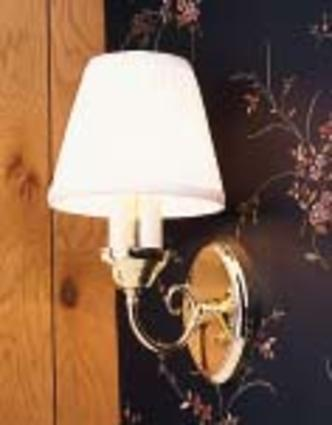 Brass Stationary Sconce