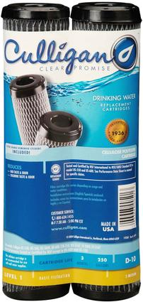 Culligan D-10 Undersink Water Filter Cartridge