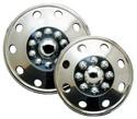 Namsco Stainless Steel Wheel Covers, Set of 4 - 16