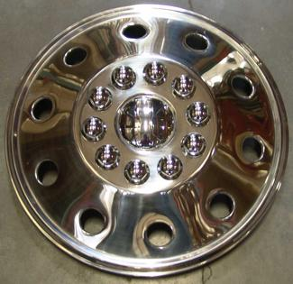 Namsco Stainless Steel Wheel Covers, Set of 4 - 19.5
