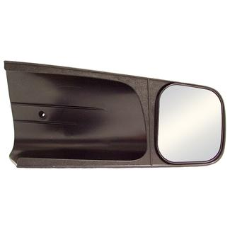 CIPA Slip-on Tow Mirror Passenger's Side Chevy/GMC Suburban '92-'98 & Pickups '96-'98 (black fold-away); Kodiak/Yukon 92-99