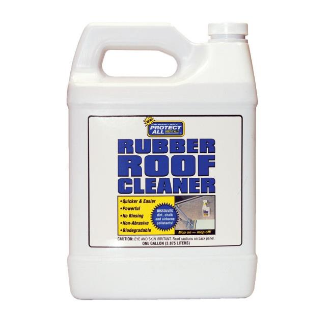 image protect all rubber roof cleaner gallon to enlarge the image click or - Rv Rubber Roof