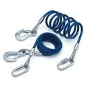 68-Inch 6000 lb. Coiled Safety Cables