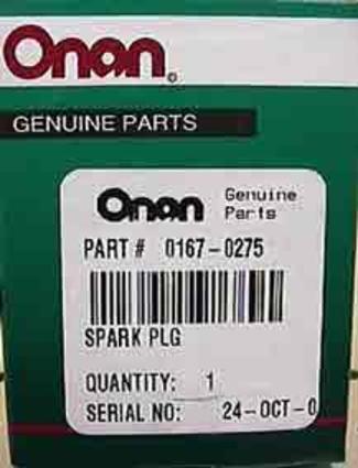 Spark Plug for MicroQuiet™ Generator