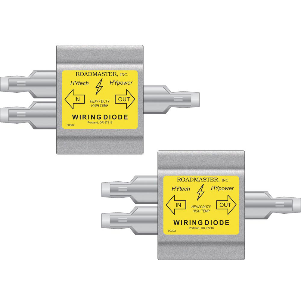 Hy Power Diodes 2 Pack Roadmaster 792 Towing Accessories 7 Way Trailer Plug Wiring Diagram With Diode Camping World