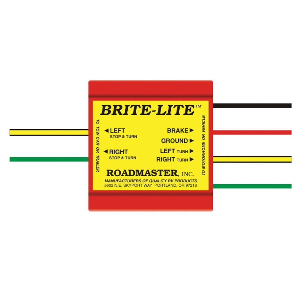 Brite Lite Converter Roadmaster 732 Towing Accessories Camping Yellow Jacket Vacuum Pump Wiring Diagram World