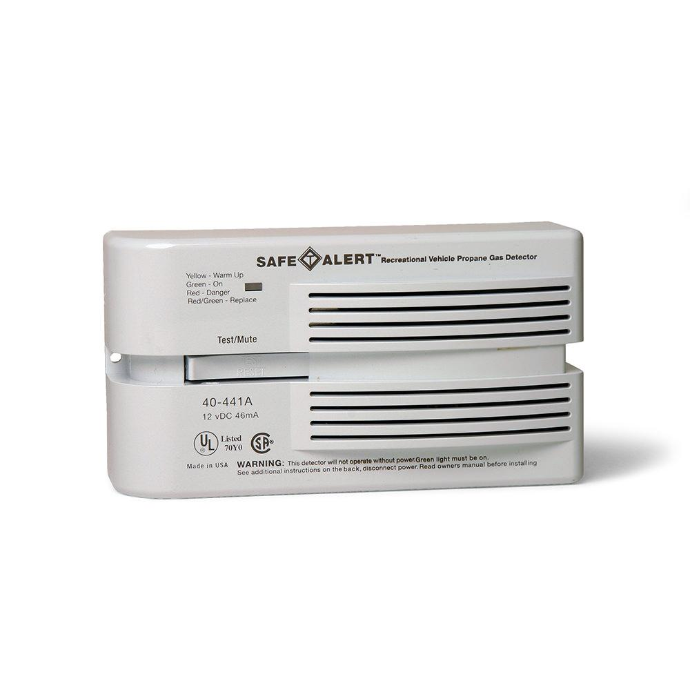 Safe t alert carbon monoxidepropane alarm brown mti safe t alert propanenatural gas alarm surface mount white sciox Image collections
