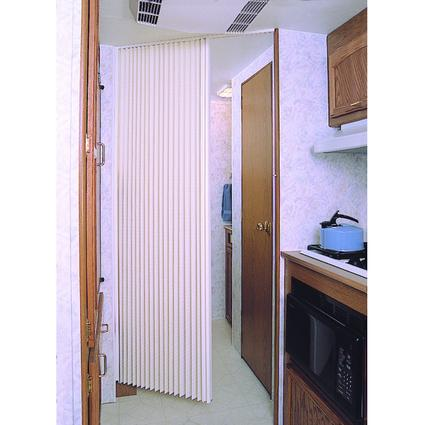 United Shade Pleated Folding Door