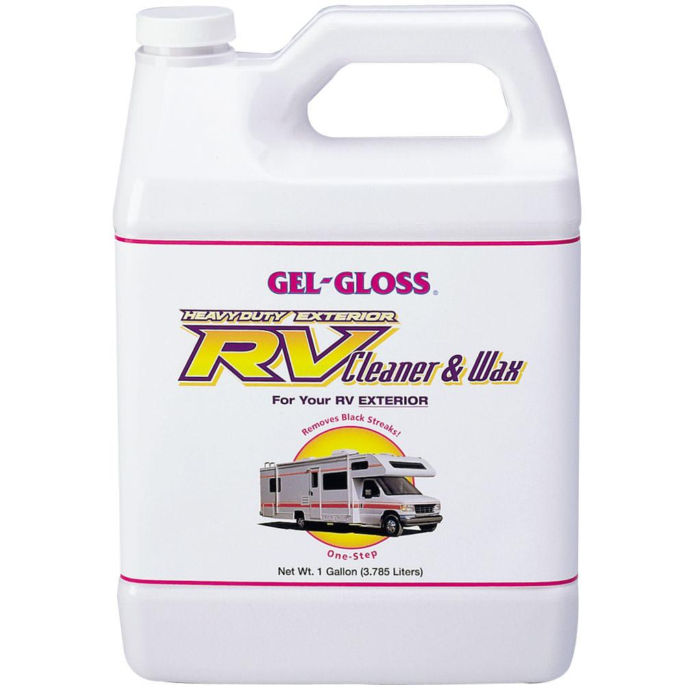 Rv Cleaning Tools : Gel gloss rv cleaner gallon t r industries cw