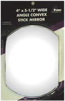 Rectangular Stick-On Mirror