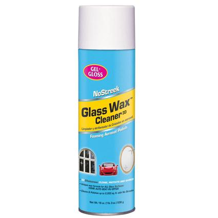 No Streek Glass Aersol Cleaner