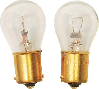 Automotive Type 12V Bulb Ref. # 1156/1073 Single Contact