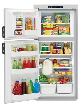 Dometic Americana Plus DM2662 2-Way Refrigerator with Icemaker, Double Door, 6.0 Cu. Ft.