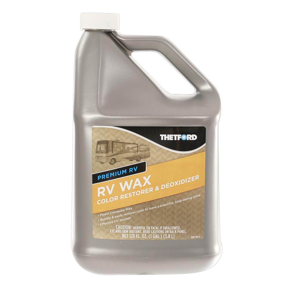 premium rv wax gallon thetford 32523 rv cleaners camping world