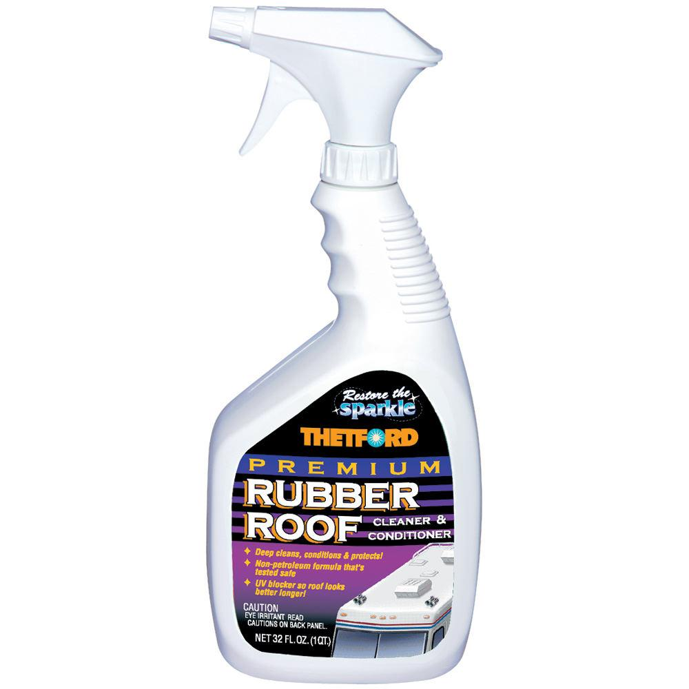 Rv Roof Cleaner : Premium rubber roof cleaner oz thetford rv