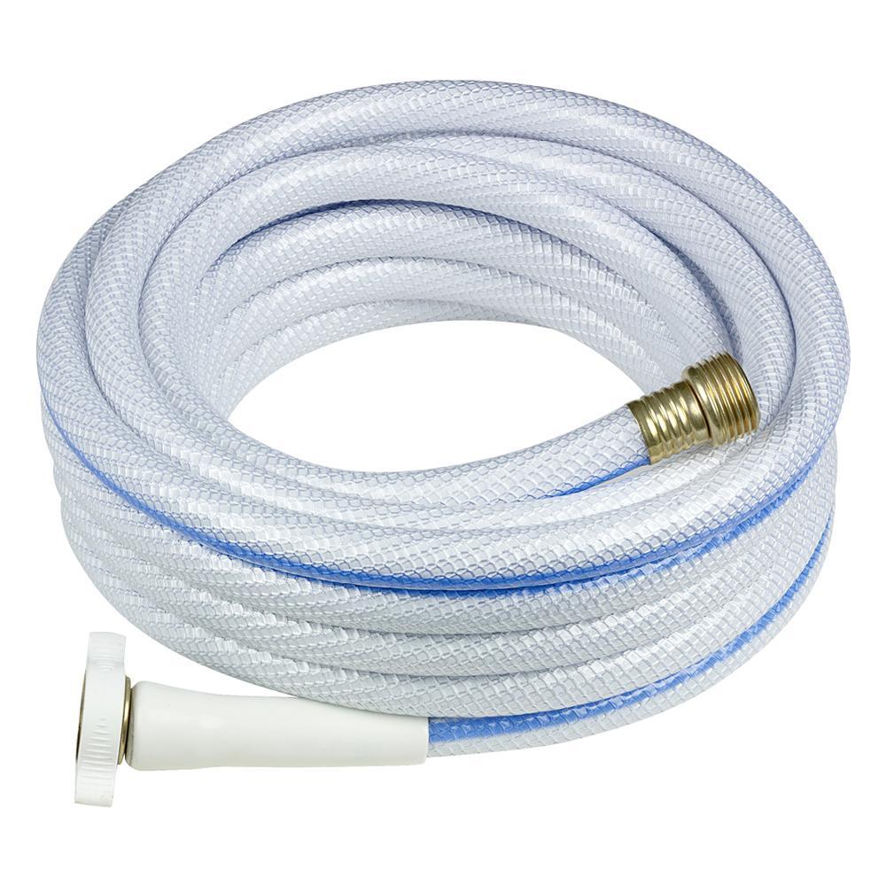 NeverKink Hose   White, 25 x 1/2 dia.   Teknor Apex 7602 25   Hoses, Reels & Fittings