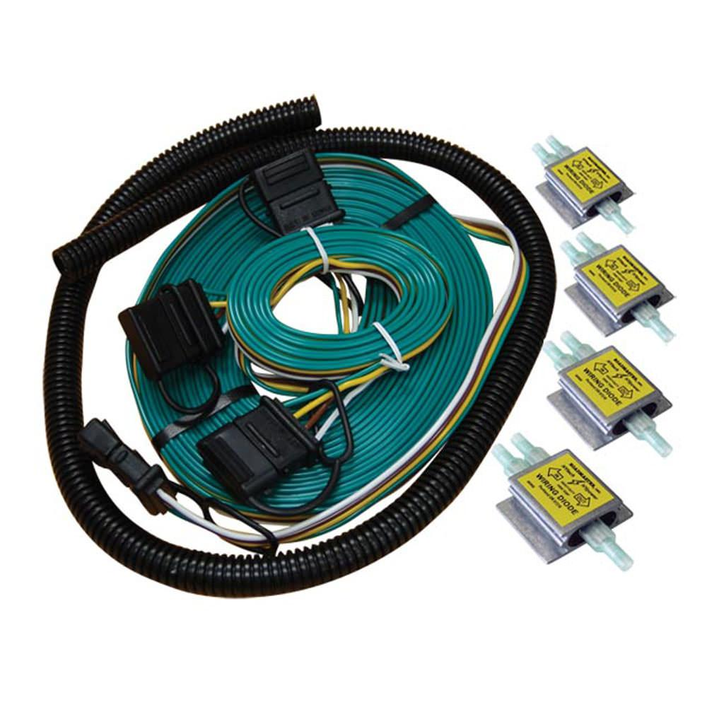 23797new universal towed car wiring kit roadmaster 154 towing car wiring at panicattacktreatment.co