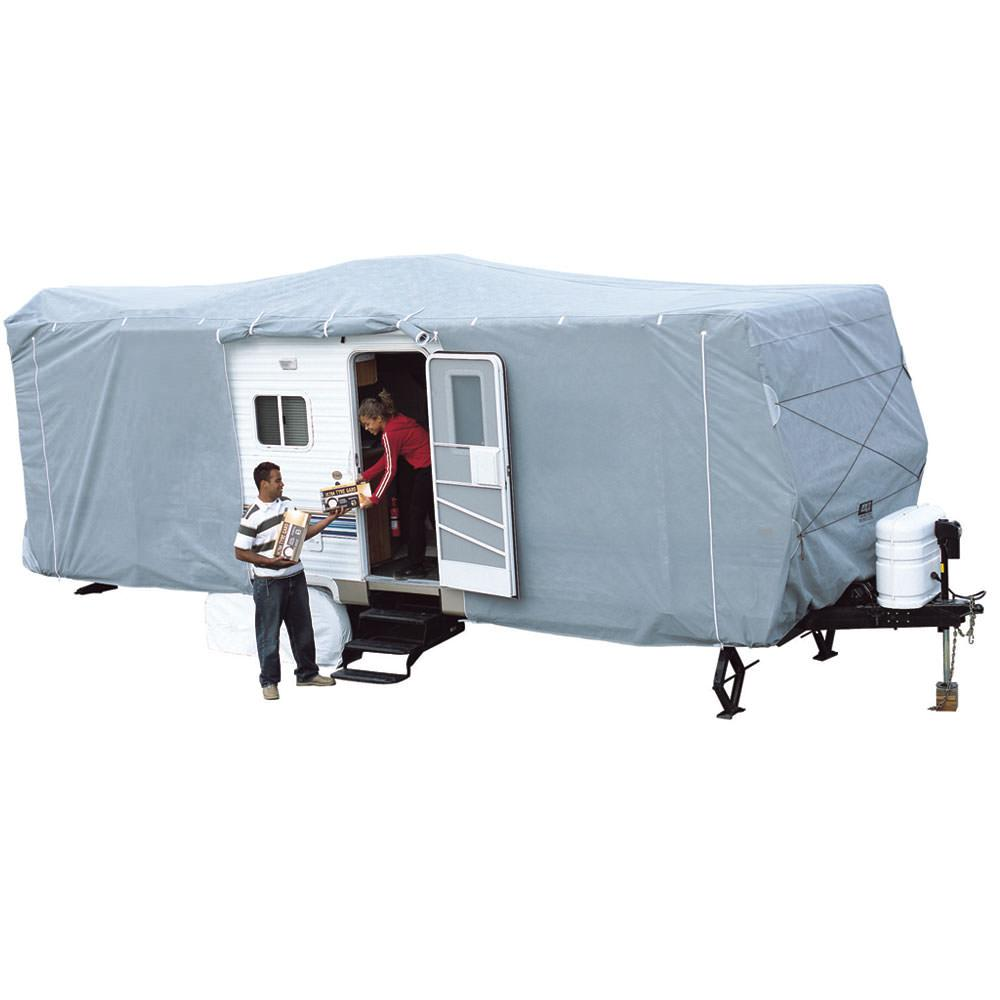Travel Trailers With Outdoor Kitchens: SFS Aqua-Shed Cover For Travel Trailers