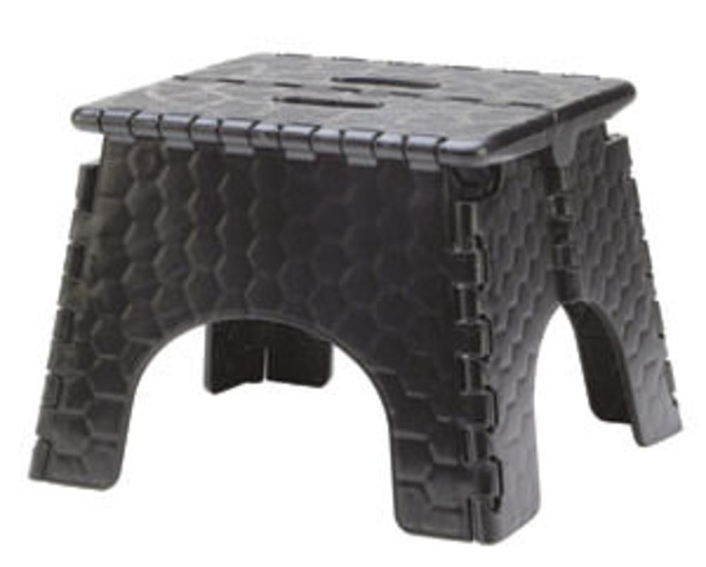 E-Z Foldz Folding Step Stool 9 - Black ...  sc 1 st  C&ing World & E-Z Foldz Folding Step Stool 9