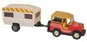Toy SUV and Travel Trailer