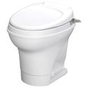 Aqua-Magic V Toilet High Profile Hand Flush - White