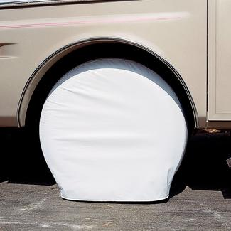 27&quot&#x3b; to 29&quot&#x3b; Ultra Tyre Gard, Set of 2, Polar White