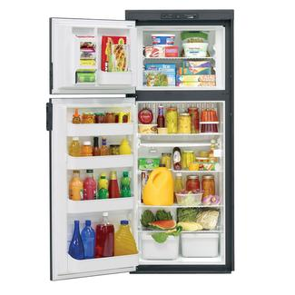 Dometic Americana Plus DM2862 2-Way Refrigerator without Icemaker, Double Door, 8.0 Cu. Ft.
