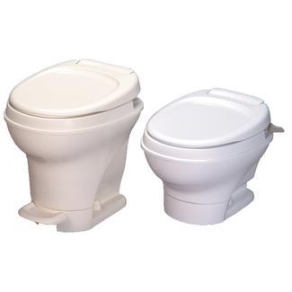 Aqua-Magic V Toilet Low Profile Hand Flush - Parchment