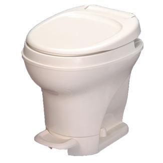 Aqua-Magic V Toilet High Profile Foot Flush - Parchment