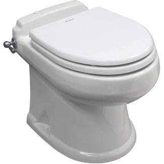 SeaLand Concerto All-Ceramic Toilet - White