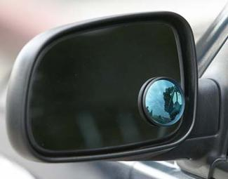 Tinted Spot Mirrors - Blue