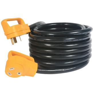 Power Grip Heavy-Duty 30A Extension Cord - 25 ft.