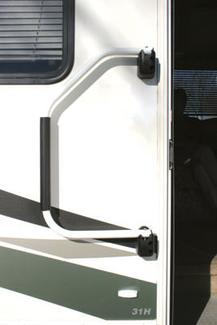 Lend-A-Hand RV Hand Rail - Sparkling Silver