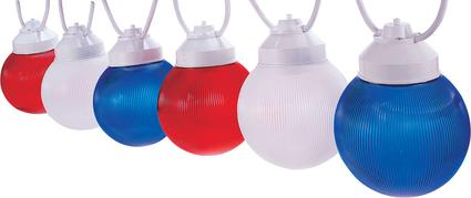 Red/White/Blue Replacement Globes