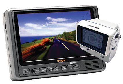 LCD Color Rear Vision