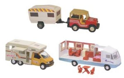 Die-Cast Miniature RVs