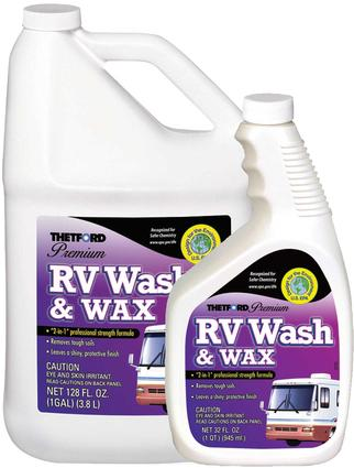 Premium RV Wash and Wax