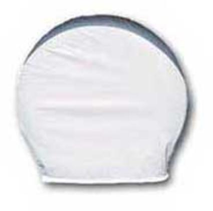 ADCO Ultra Tyre Gards, Pair - Polar White