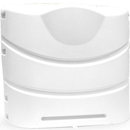 30 lb Heavy Duty Propane Tank Cover - Polar White