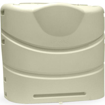 30 lb Heavy Duty Propane Tank Cover - Colonial White