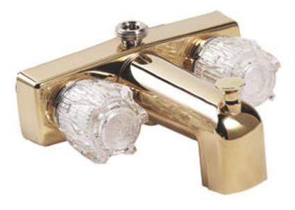 Polished Brass Finish Tub/Shower Diverter