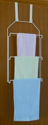 Over the Door Compact Towel Bar