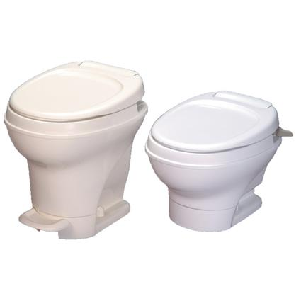 Aqua-Magic V Foot Flush Toilets