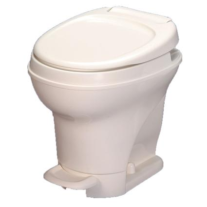 Aqua-Magic V Toilet High Profile Foot Flush - Parchment