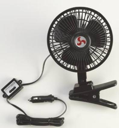 12-Volt Clip-On Fan