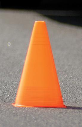 Zone Cones, 6-Pack