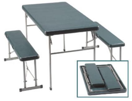 Folding Sport Table and Bench Set